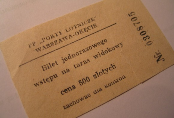 bilet na taras